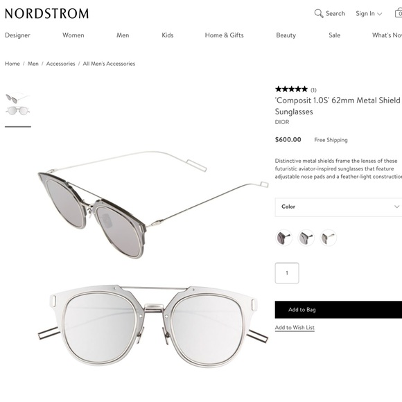 75acb5e9d053 Dior Accessories - Christian Dior Homme sunglasses composit so real